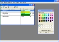 Ekonomický software - hotelový systém - nastavení stavů pokojů pro grafický plán