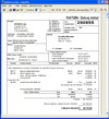 Podvojné účetnictví - faktury vydané - jeden z možných formátů tisku faktury - lze vytisknout, uložit ve formátu EMF nebo PDF, poslat e-mailem