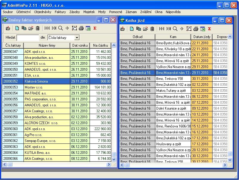 Účetní programy - ekonomický software