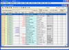 Podvojné účetnictví - pokladna - základní okno - seznam pokladních dokladů zvolené pokladny